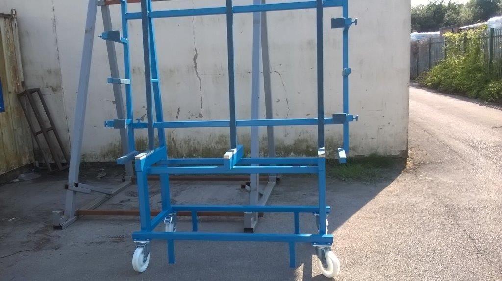 mobile freefall rack